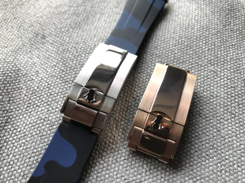 Stainless Steel Deployment Clasp for Rolex - StrapMeister