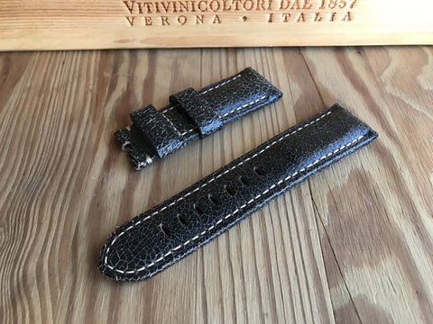 Panerai Cracked leather strap 24MM/22MM - StrapMeister
