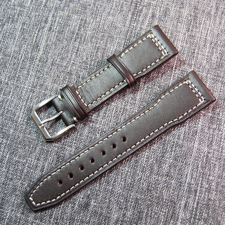 21mm IWC style calf leather strap - StrapMeister