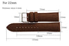 Leather Grained Rubber strap StrapMeister $29.99