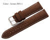 Leather Grained Rubber strap - StrapMeister