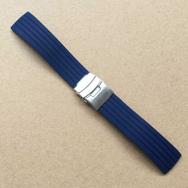 Cheap Rubber straps for Seiko,casio & other watches-free shipping. StrapMeister $19.99