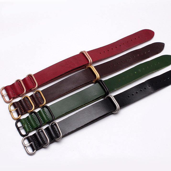 Quality Zulu strap in 4 awesome colors - StrapMeister