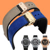 Hublot watch strap 21mm & center nudge 15mm lug width StrapMeister $23.28