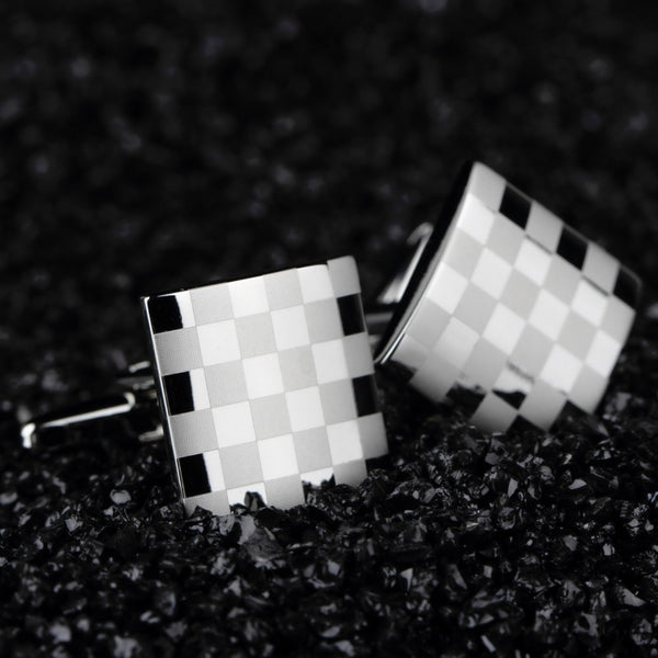 Cool Men Cuff Links Stainless Steel - StrapMeister