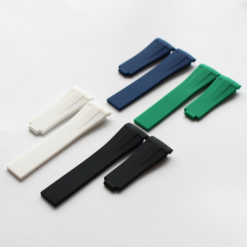 Cheap & Quality Rubber Strap for Rolex-free shipping StrapMeister $39.99