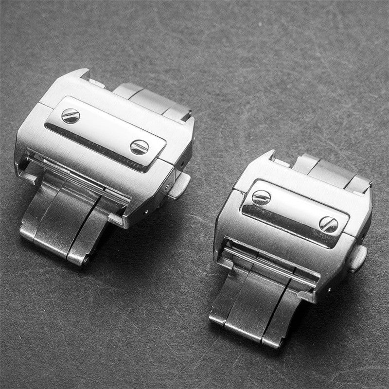 Cartier Santos folding clasp-Strapmeister - StrapMeister
