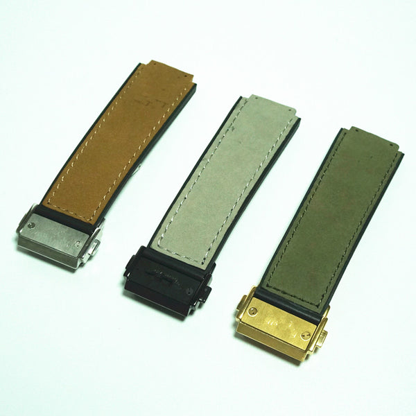 25/19mm watch strap for hublot-strapmeister - StrapMeister