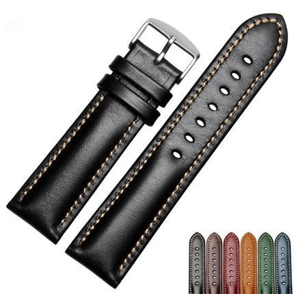 Vintage Leather straps Padded - StrapMeister