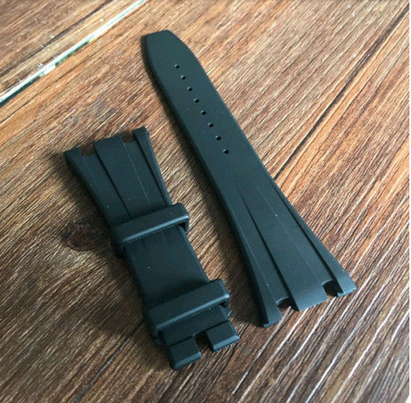 Cheap Audemars piguet rubber strap for folding clasps-free shipping - StrapMeister