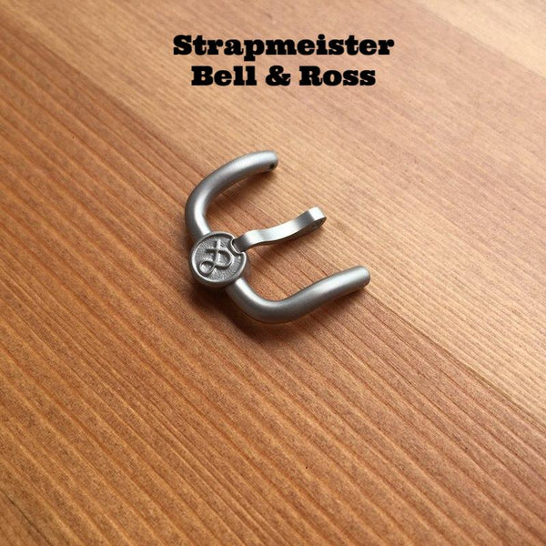 18mm Bell & Ross WW2 regulator Buckle StrapMeister $75.99