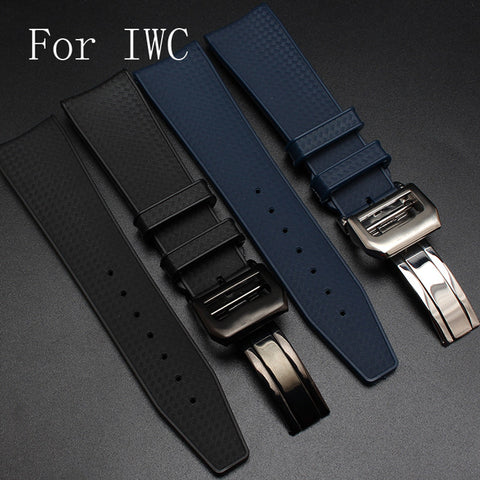 IWC replacement rubber strap - StrapMeister