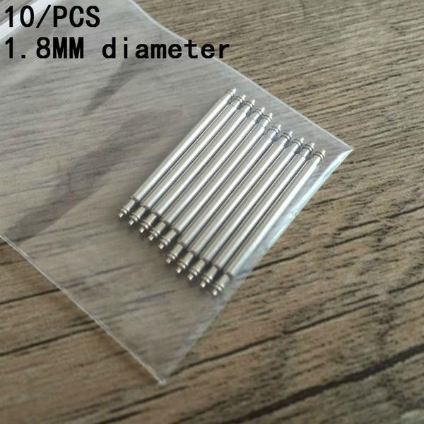 10Pcs To 18MM/20MM/22MM/24MM/26mm Spring Bars - StrapMeister
