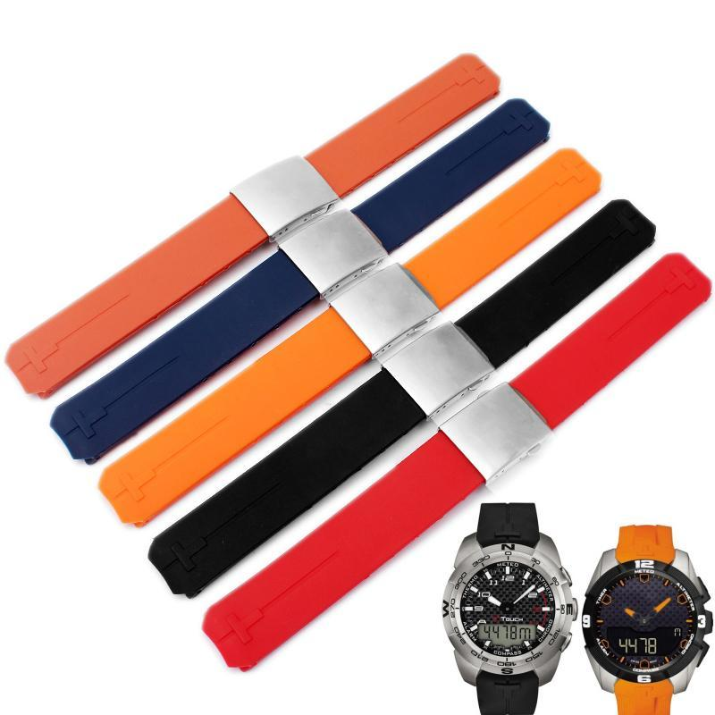 20mm Replacement Silicone Watch strap For Tissot T-Touch T33 - StrapMeister