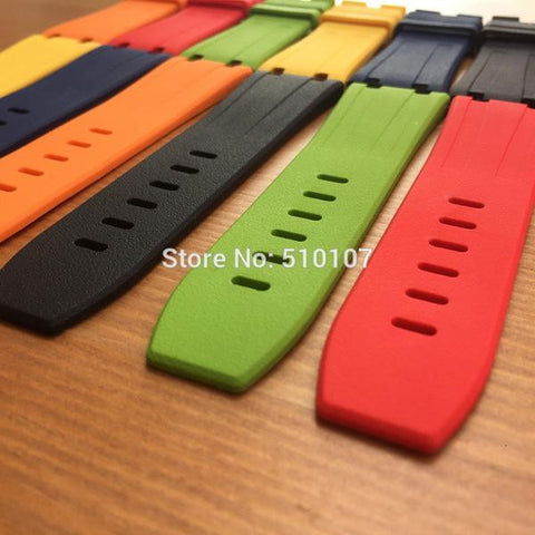 28mm rubber strap for AP Royal offshore - StrapMeister