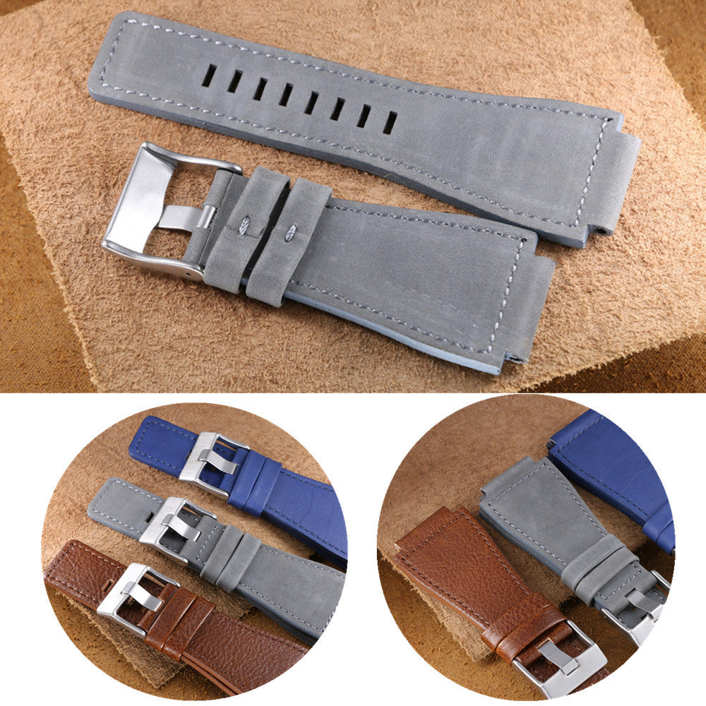 Bell & Ross style leather strap - StrapMeister