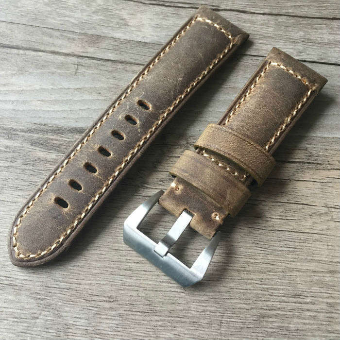 Cheap & quality Panerai Assolutamente strap-free shipping StrapMeister $31.99
