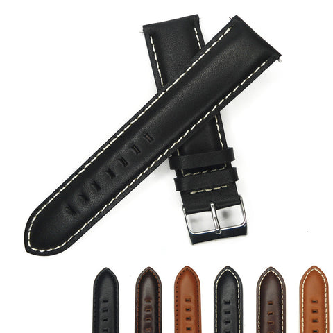 Genuine Leather Watch Strap 16mm to 24mm StrapMeister $18.99