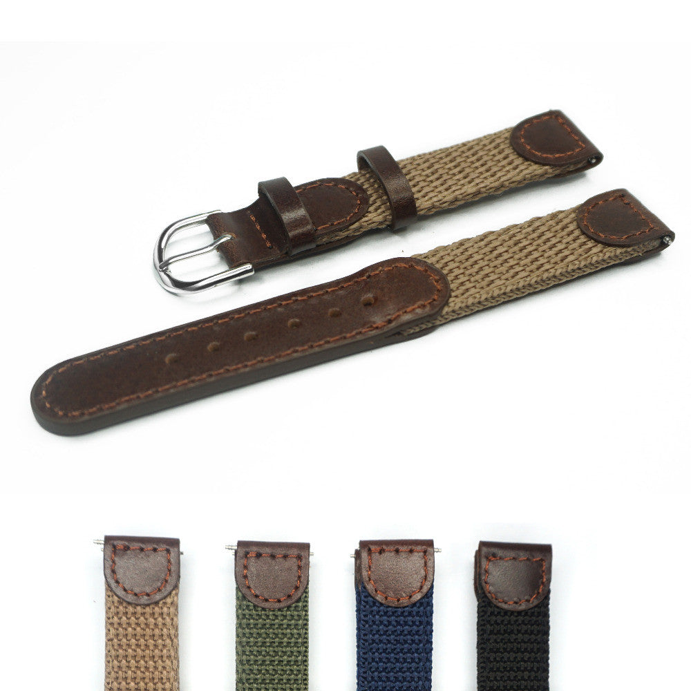 Military style Strap 16-22mm. - StrapMeister