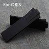 24mm(*11mm ) Oris replacement rubber strap StrapMeister $31.99