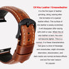 Oil Wax Leather Strap for Applewatch - StrapMeister