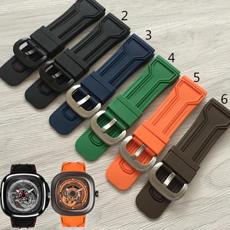 Sevenfriday Special Designed rubber strap