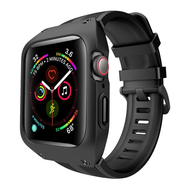 Apple Watch Series4 44mm ArmorCase strap. StrapMeister $42.99