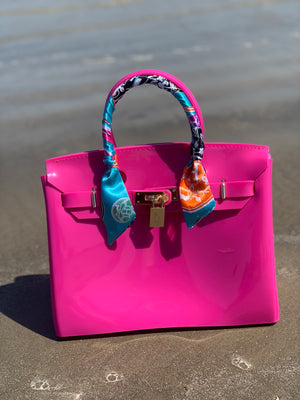 Pink Glossy Beachkin ONE LEFT