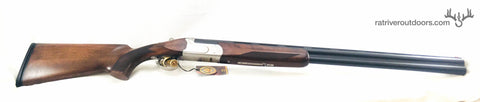 Churchill 206 silver standard walnut 12 guage