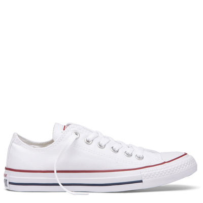 CONVERSE Womens White Canvas Low Top CTAS