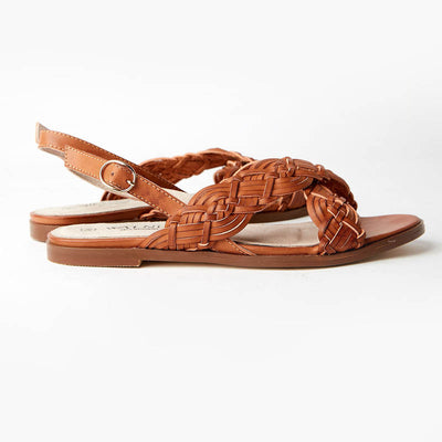 WALNUT MELBOURNE Womens Alice Woven Sandals