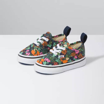 VANS Authentic Elastic Lace Multi Tropic Toddler