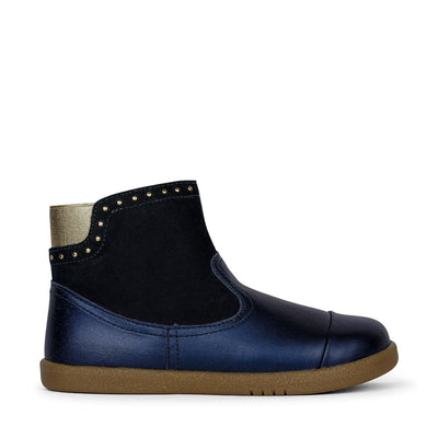 BOBUX Kid+ Belle Boot Navy Shimmer