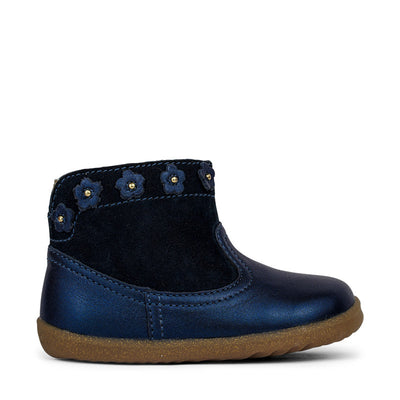 BOBUX Step Up Daisy Boot Navy Shimmer