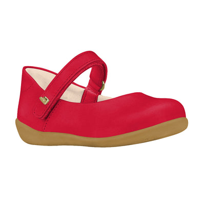 BIBI Rainbow Mini Red Mary Janes
