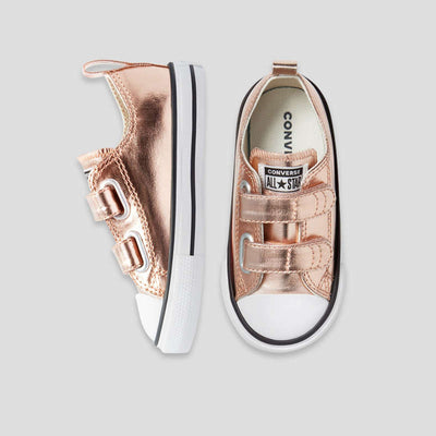 CONVERSE 2V Rose Gold Toddler