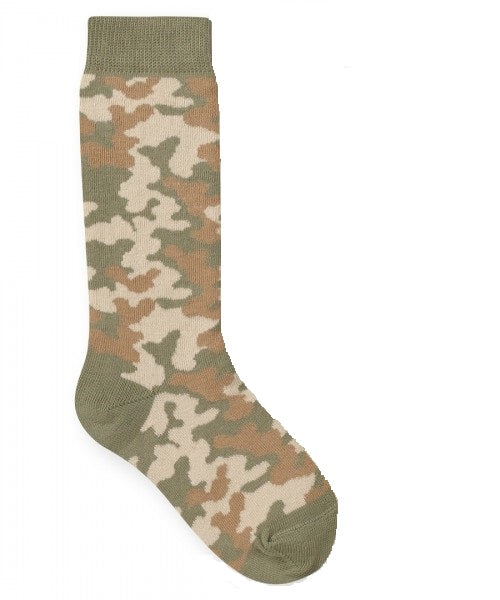 0b01da6ffd0 JEFFERIES SOCKS Camo Knee High Socks - Tiptoe   Co