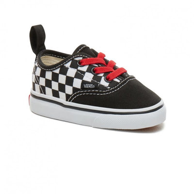 VANS Authentic Elastic Lace Checkerboard Toddler