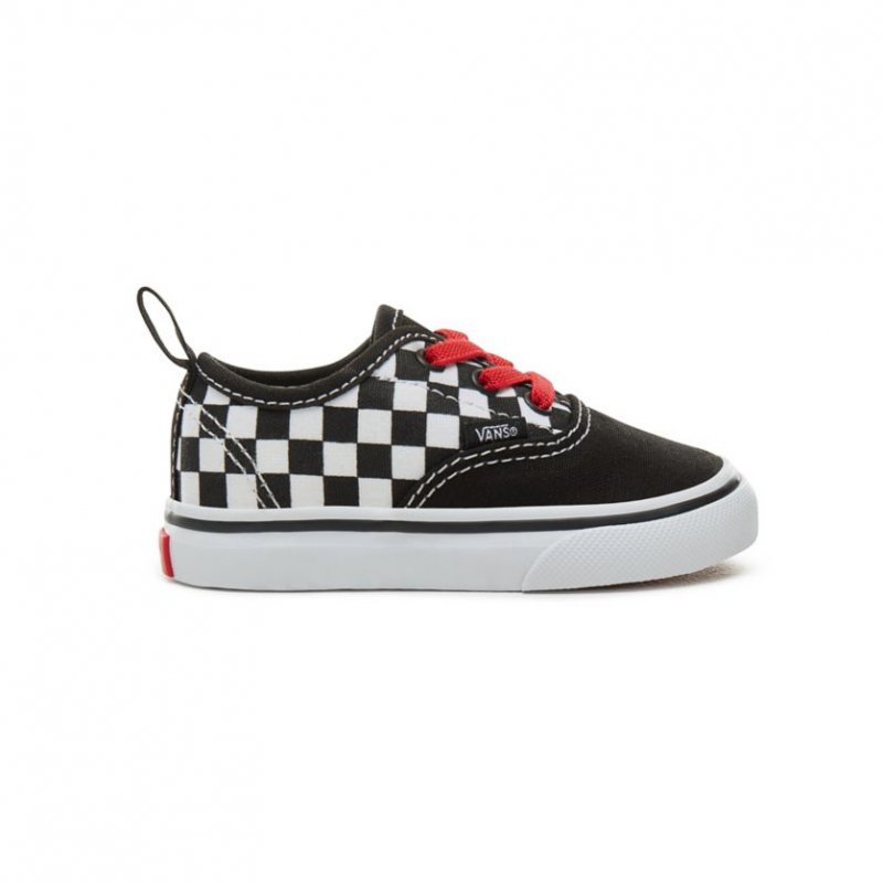VANS Authentic Elastic Lace Checkerboard Toddler 582d26c7a
