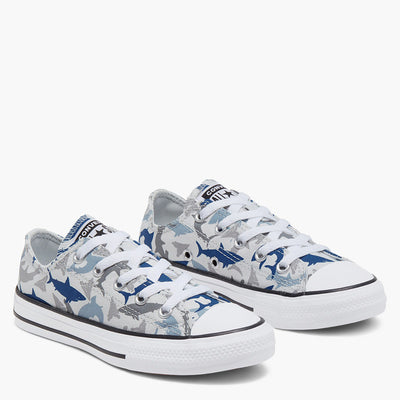 CONVERSE Shark Bite Low Top Kids CTAS