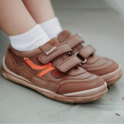 SUREFIT Danny Tan Leather Sneakers