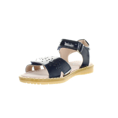 SUREFIT Ella Patent Navy Girls Sandals