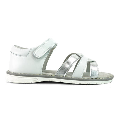 SUREFIT Julie White Girls Sandals