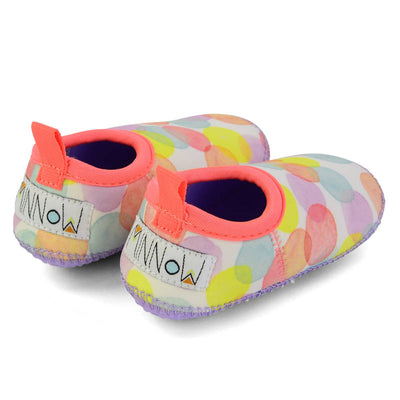 MINNOW DESIGNS Dotty Toddler Beach Booties LAST PAIR