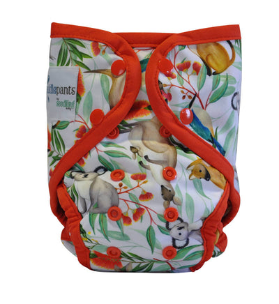 SEEDLING BABY Paddle Pants Icon Red