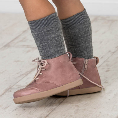 PRETTY BRAVE Archie Boot Dusky Pink