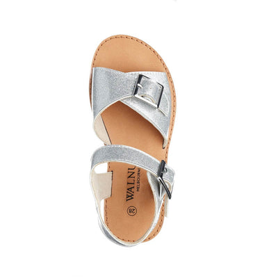 WALNUT MELBOURNE Girls Ryder Silver Sandals