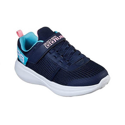 SKECHERS Go Run Fast Viva Valor Navy Girls