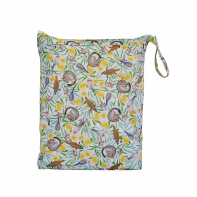 SEEDLING BABY Beach Bag Icon Green