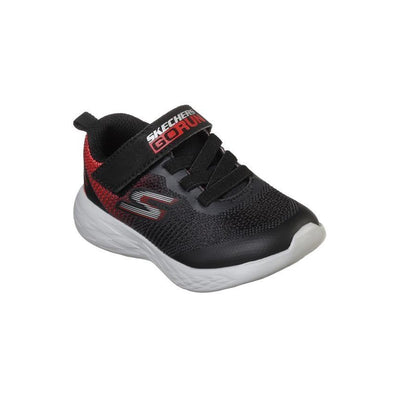 SKECHERS Go Run 600 Farrox Black & Red Toddler